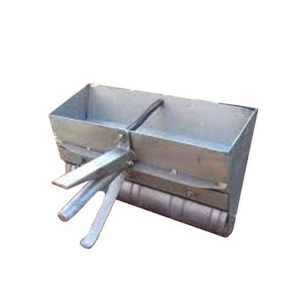 Habarcsterítő kocsi 38/30 cm tüzihorganyozva, szűkítővel